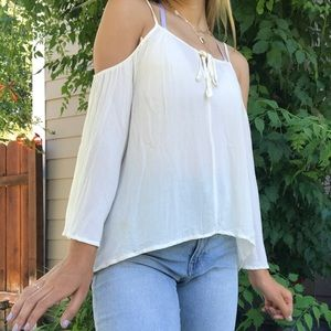 Off shoulder shirt